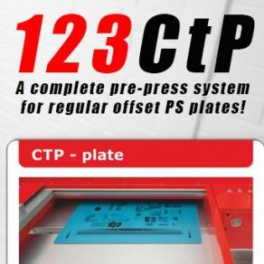 123CTP - Comfort Line - Digital Inkjet Computer to Plate