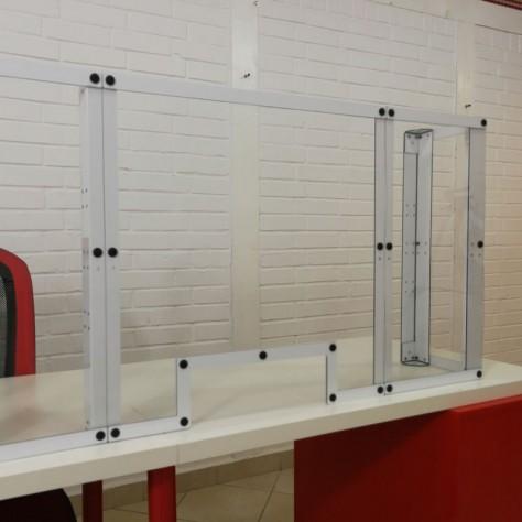 BUROPROTECT - Hygiaphone, écran de protection transparent
