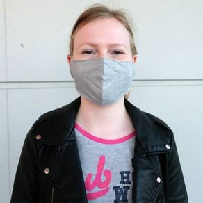 Masque de Protection filtrant, antibactérien, multicouches, réutilisable