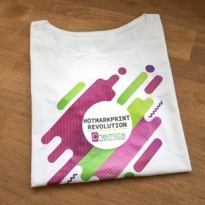 Flex de découpe Chemica HotmarkPRINT Revolution PU pour cotton, polyester et nylon - rouleaux de 50cm de largeur