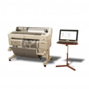 123CTF - Imprimante CMYK + films (typons) formats A2, A1 et 10 pour la sérigraphie et l'offset quadri