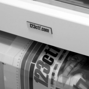 123Film - Polyester HD film Roll 130µm