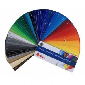 Avery 700 - Colorchart
