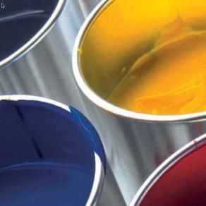 Novavit F 100 - CMYK Process inks - 1kg  4F100 Cyan, 2F100 Magenta, 1F100 Yellow et 100 Black