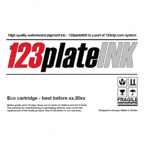 123PlateINK - Black HD Ink Cartridge for 123CTP